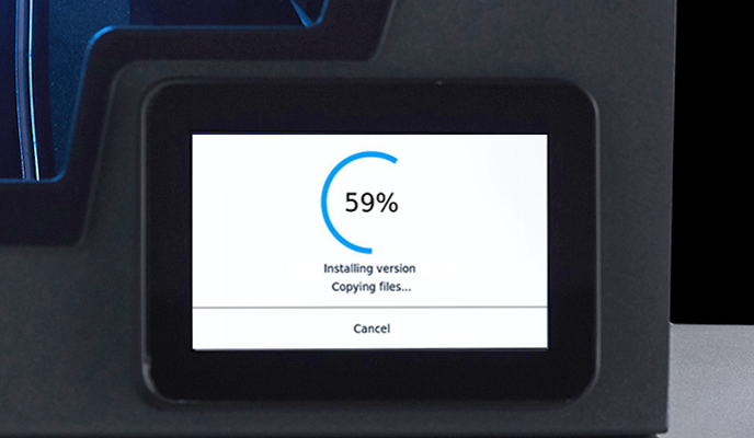 The charge process of the new firmware