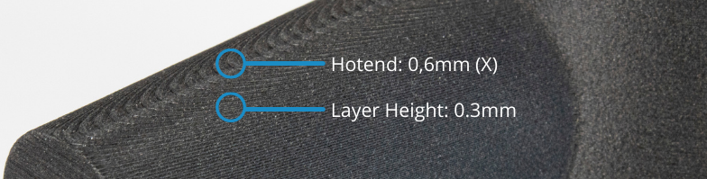 setting the correct layer height for the hotend