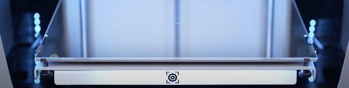 ajustando la temperatura de la superficie de impresión