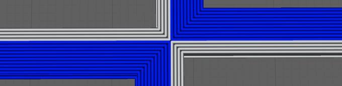 Parámetro de perímetro en BCN3D Cura