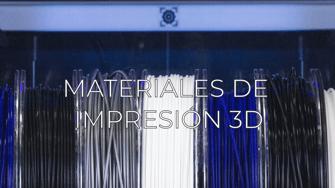 Materiales de impresión 3D