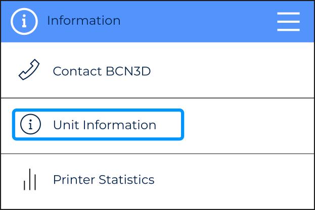 bcn3d-unit-information