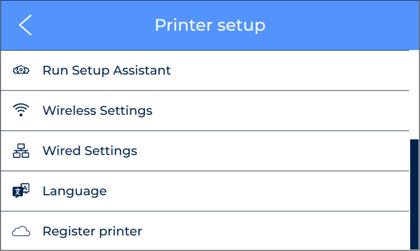 Printer-Setup