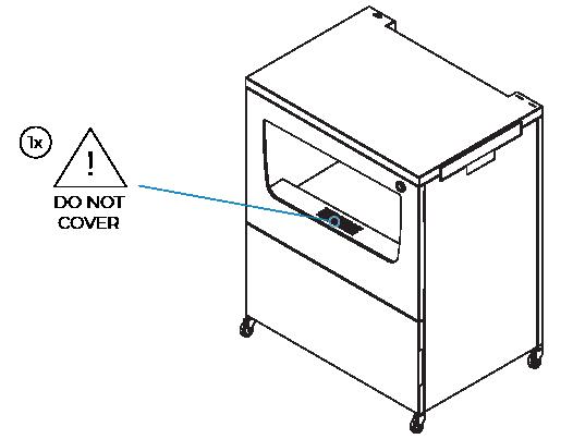 smart cabinet dehumidifier warning