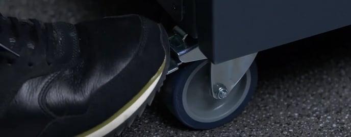 smart cabinet brake