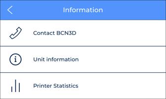 information menu