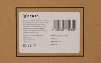 serial number label box