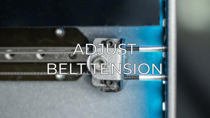 adjust belt tension eng