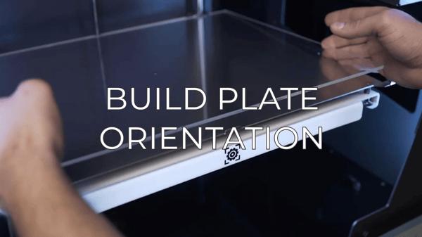 build plate orientation EN