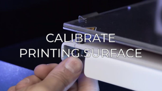 calibrate printing surface eng