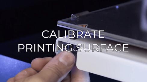 calibrate printing surface eng