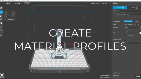 create material profiles EN