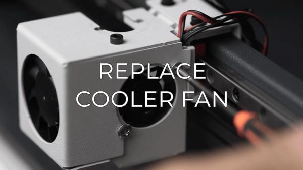 replace cooler fan eng