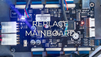 replace mainboard eng