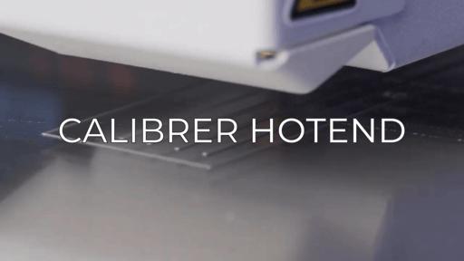 calibrate hotend FR