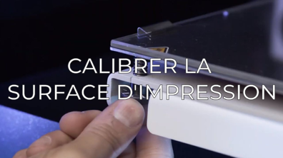 calibrate printing surface FR
