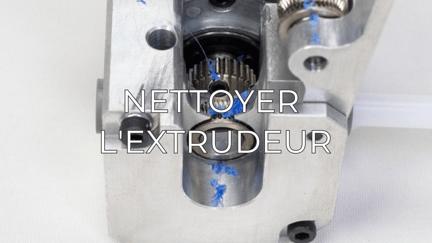 clean extruder FR
