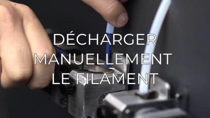 manually unload filament FR