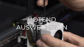 replace hotend GR