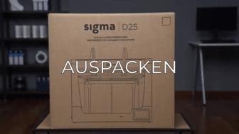 unboxing sigma D25 GR