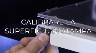 calibrate printing surface IT