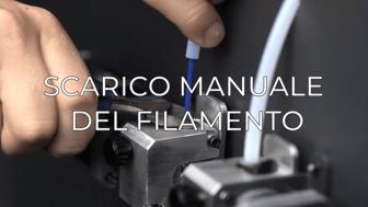manually unload filament IT