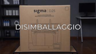 unboxing sigma D25 IT