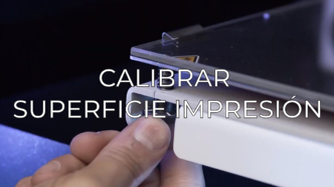 calibrate printing surface ES