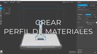create material profiles ES