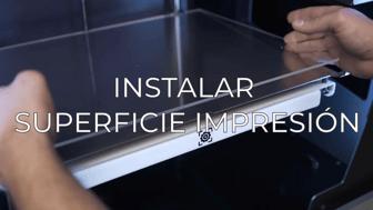 install printing surface ES
