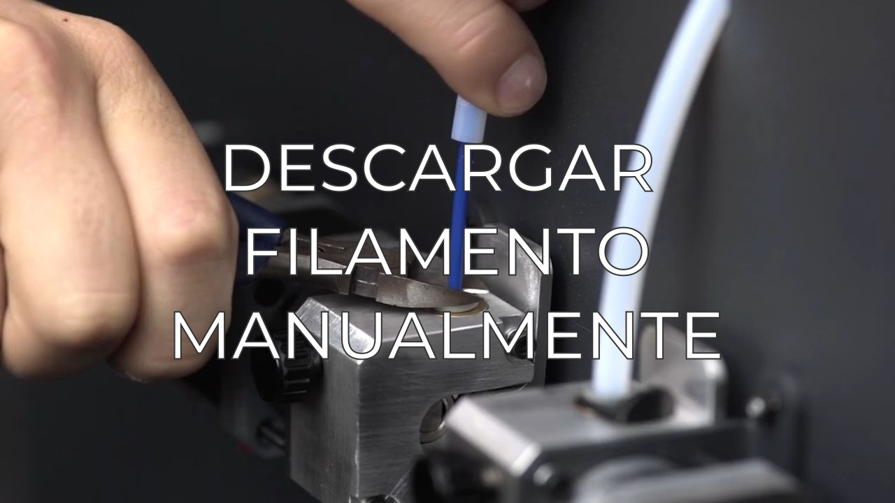 manually unload filament ES