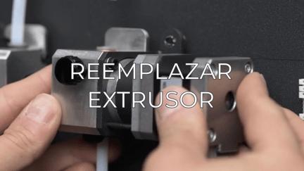 replace extruder ES