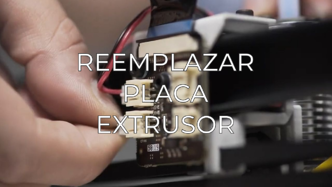 replace extruder board ES