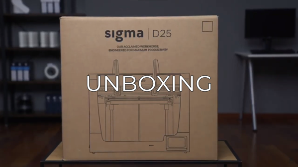 unboxing sigma D25 ES