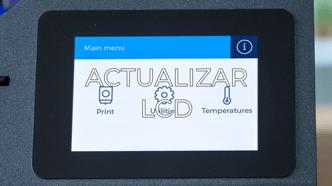 update LCD ES