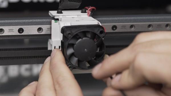 remove layer fan