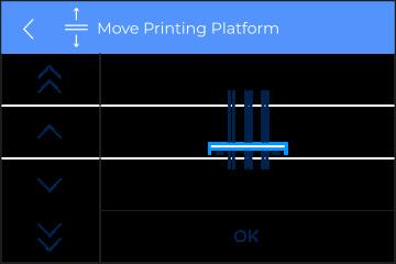 Move printing platform