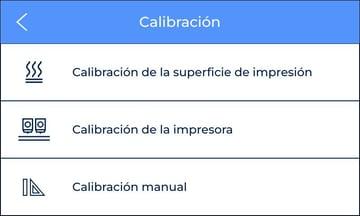 manual fine calibration