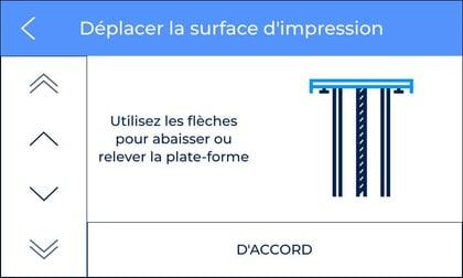 Move printing surface fr
