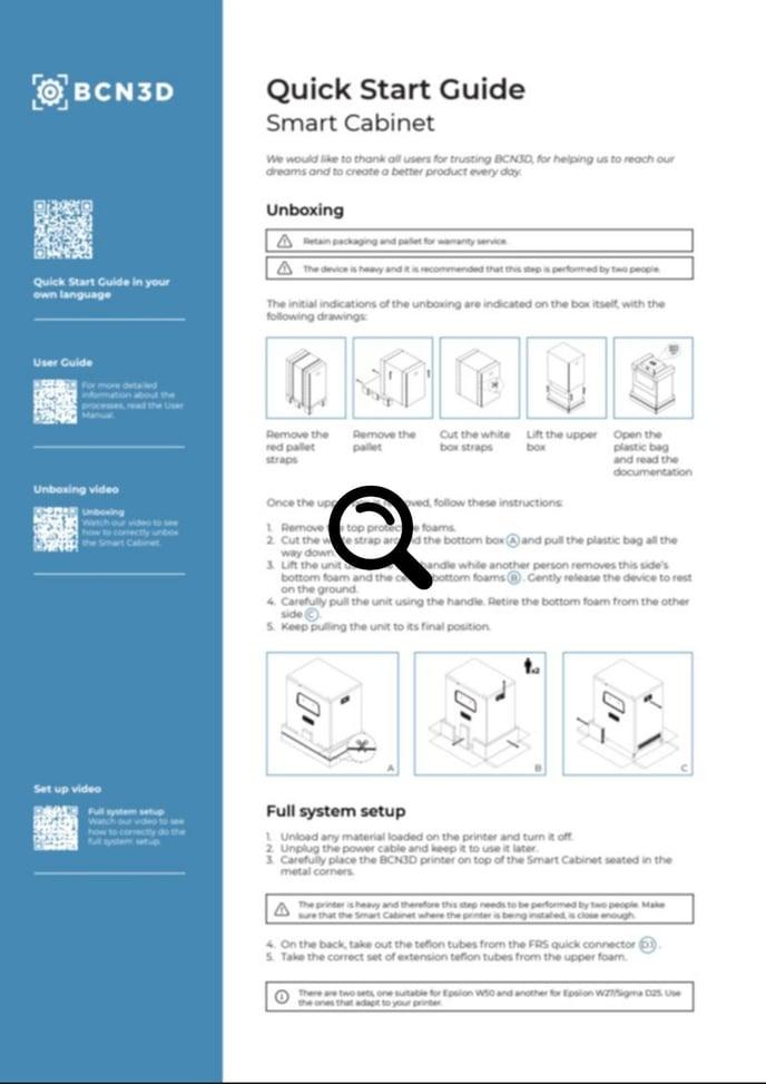 smart cabinet quick start guide